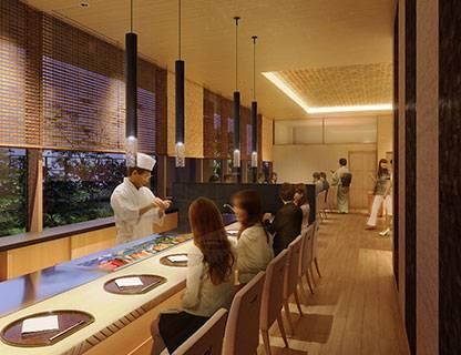 一張含有 室內, 地板, 窗戶, 餐廳 的圖片自動產生的描述