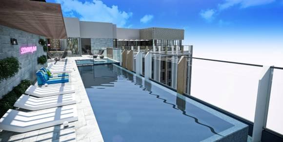 一張含有 建築物, 甲板, 渡假區 的圖片自動產生的描述